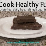 No Cook Healthy Chocolate Fudge