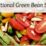 gluten free traditional green bean salad