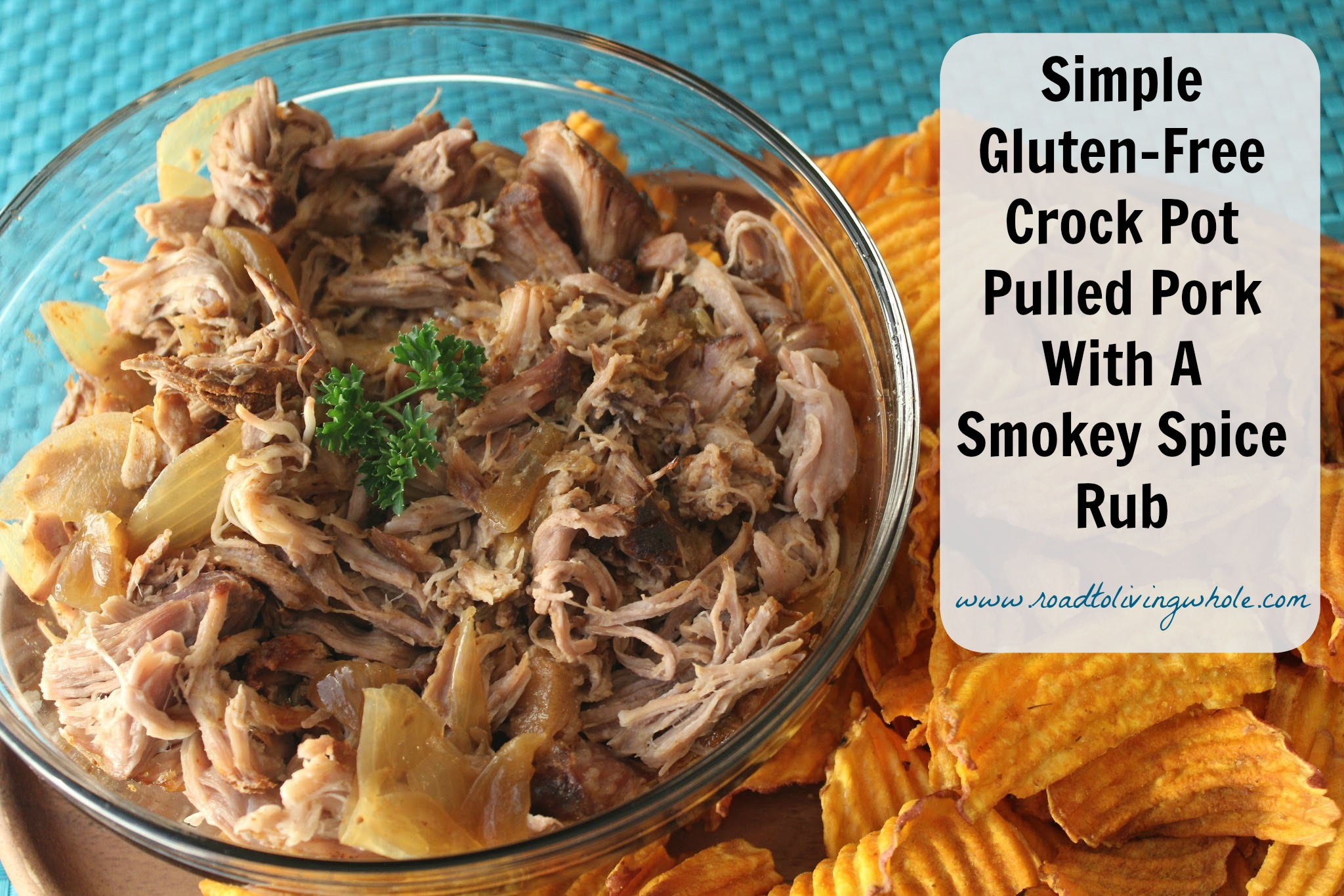 Simple Crock Pot Pulled Pork - Road to Living Whole