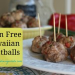 Grain Free Hawaiian Meatballs