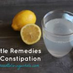 Gentle Remedies For Constipation