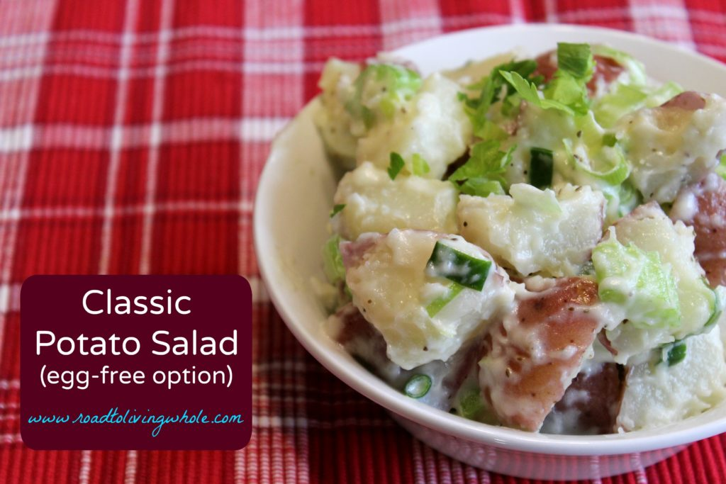 Classic Potato Salad - Road to Living Whole