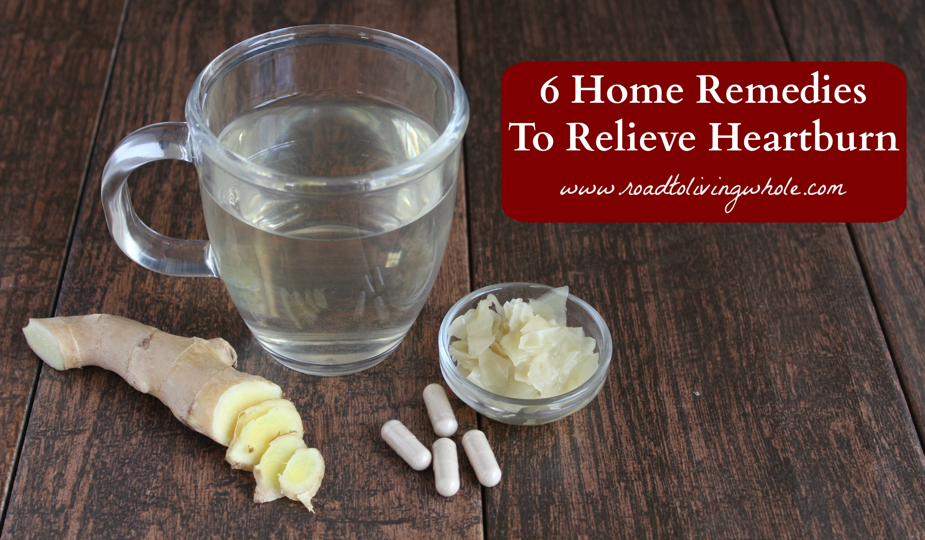 home remedies heartburn