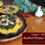 Vegan + Paleo Stuffed Winter Squash