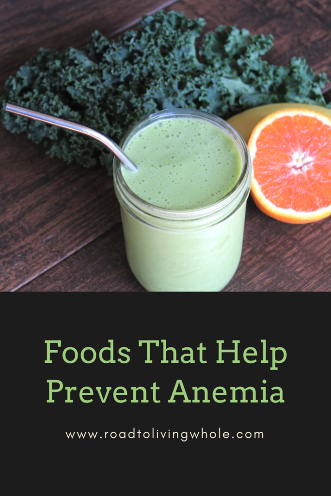 foods that help prevent anemia