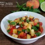 Peach Pico De Gallo