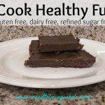 no cook healthy chocolate fudge video