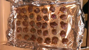 Veggie Filled Grain Free Meatballs