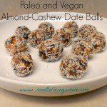 Almond-Cashew Date Balls