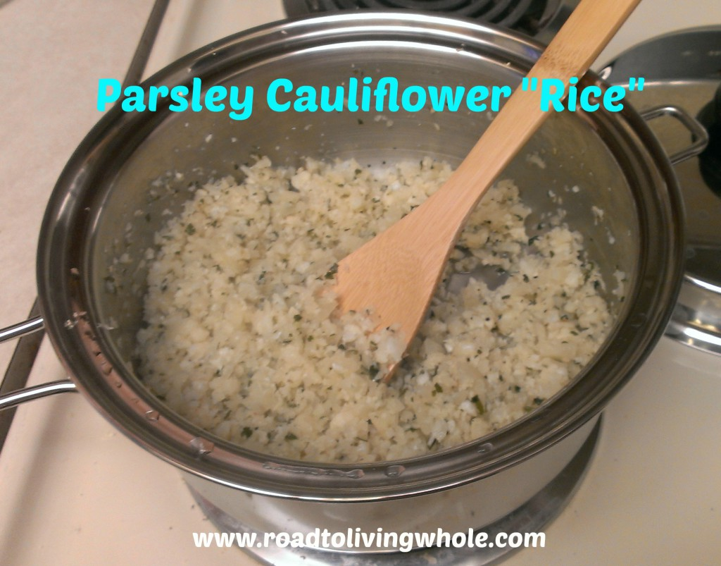 Parsley Cauliflower Rice