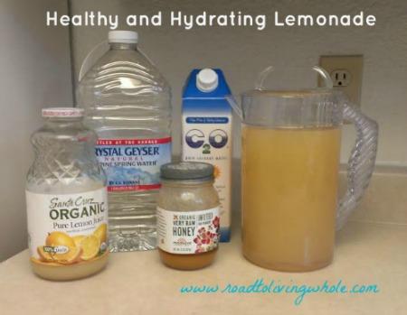 Healthy Lemonade 3