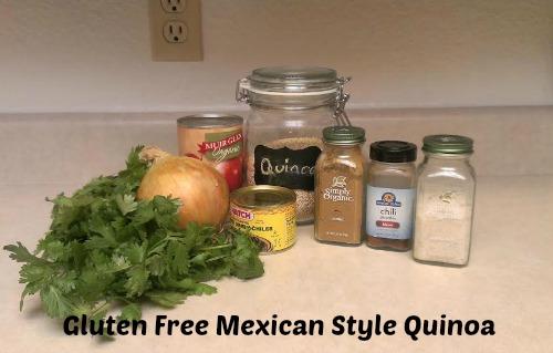 gluten free mexican quinoa