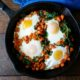 sweet potato and egg breakfast skillet