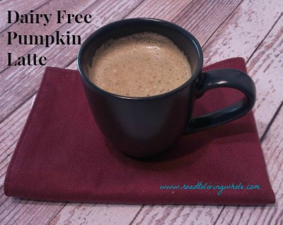 dairy free pumpkin latte
