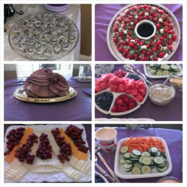 gluten free bridal shower