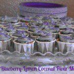 gluten free blueberry lemon cupcake muffins