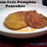 Grain Free pumpkin pancakes