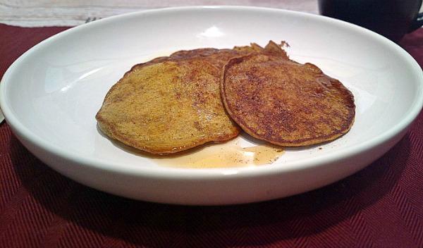 grain free pumpkin pancakes plain