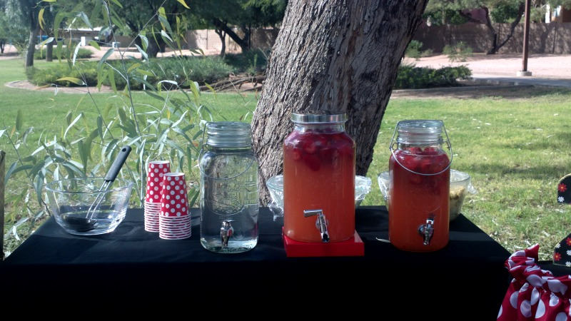Strawberry Infused Lemonade