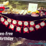 gluten free birthday party menu