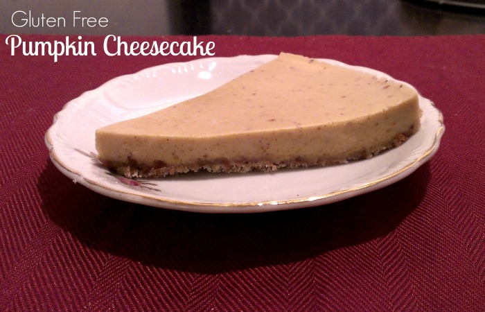 gluten free grain free dairy free pumpkin cheesecake paleo