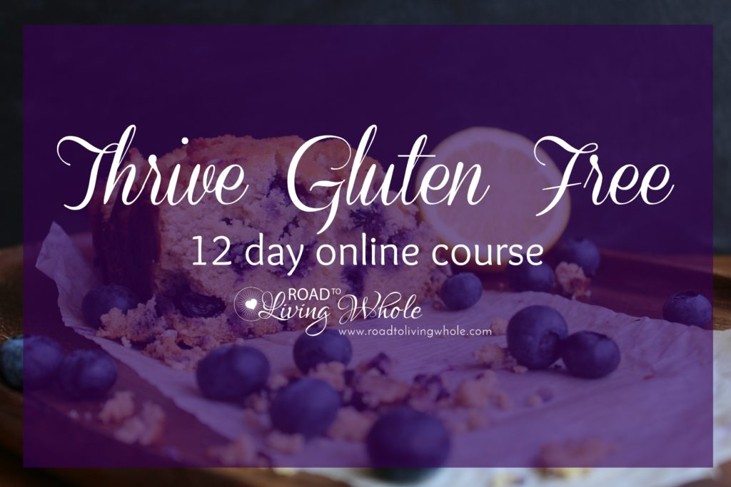 thrive gluten free online course