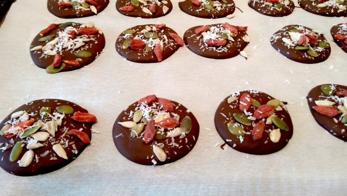 Nut Free chocolate superfood drops 3