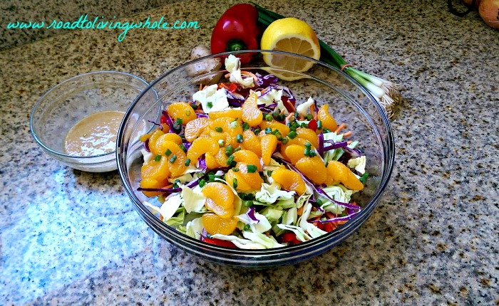 asian inspired chopped salad 2