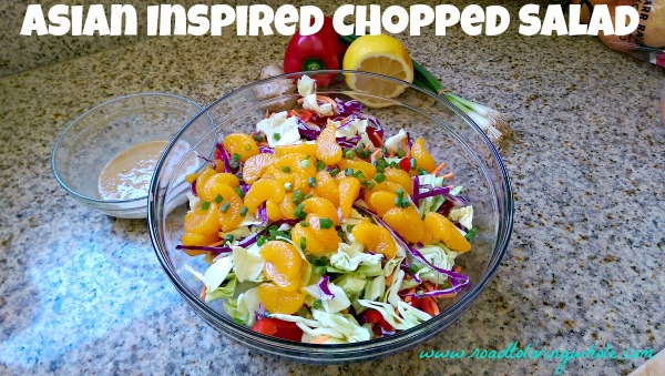 paleo gluten free asian inspired chopped salad