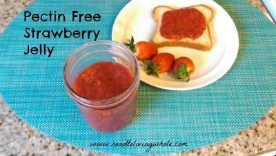 pectin free strawberry jelly