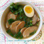 gluten free paleo chicken ramen bowl