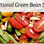 gluten free traditional green bean salad