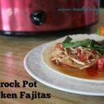 paleo crockpot chicken fajitas