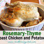 Rosemary-Thyme Chicken and Potato Bake