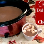 Creamy Crock Pot Dairy Free Hot Chocolate