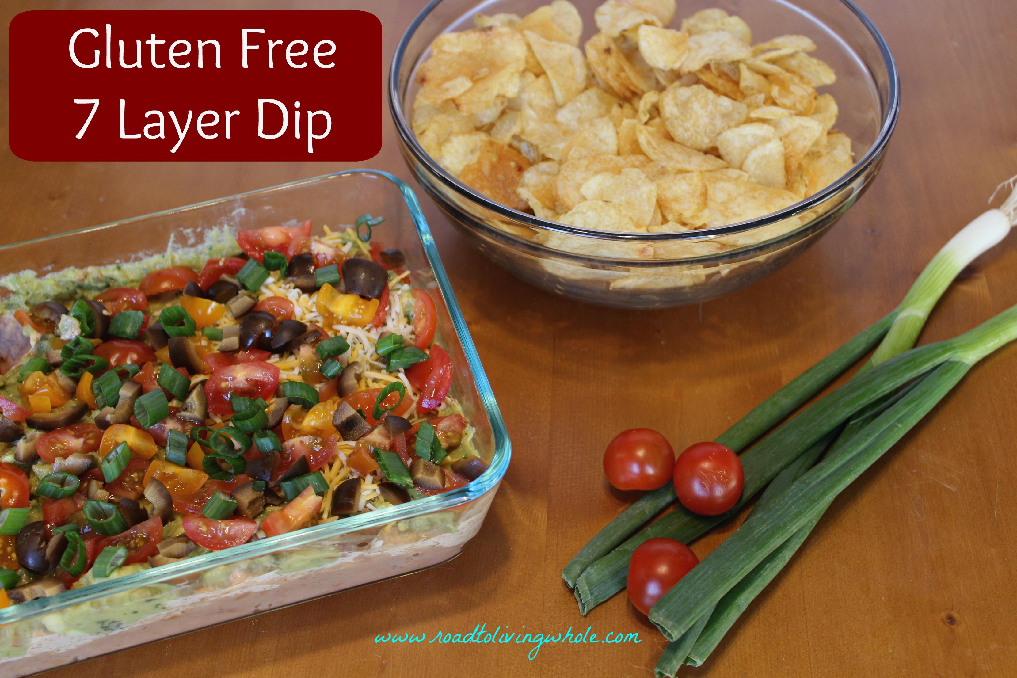 gluten free 7 layer dip