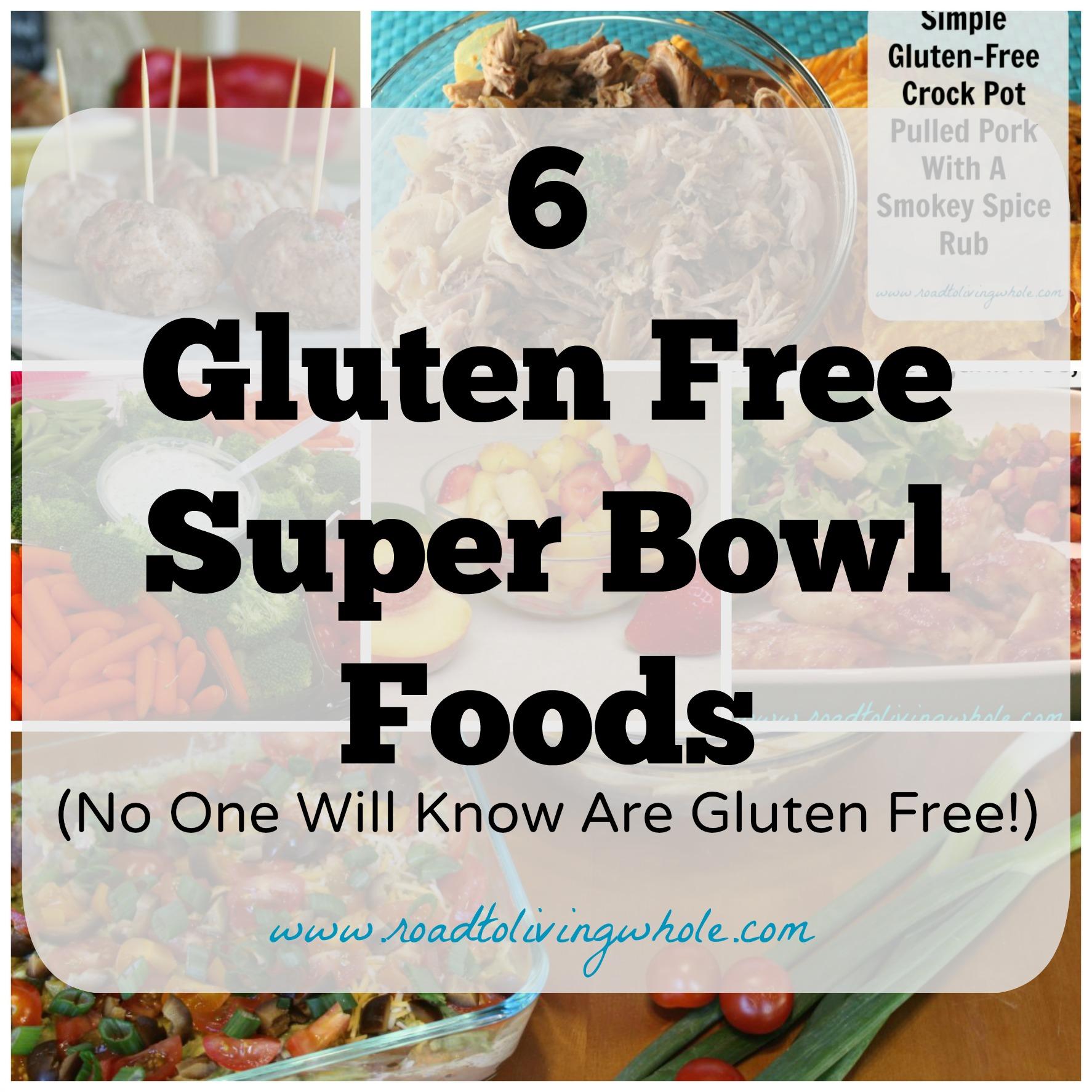 gluten free super bowl foods