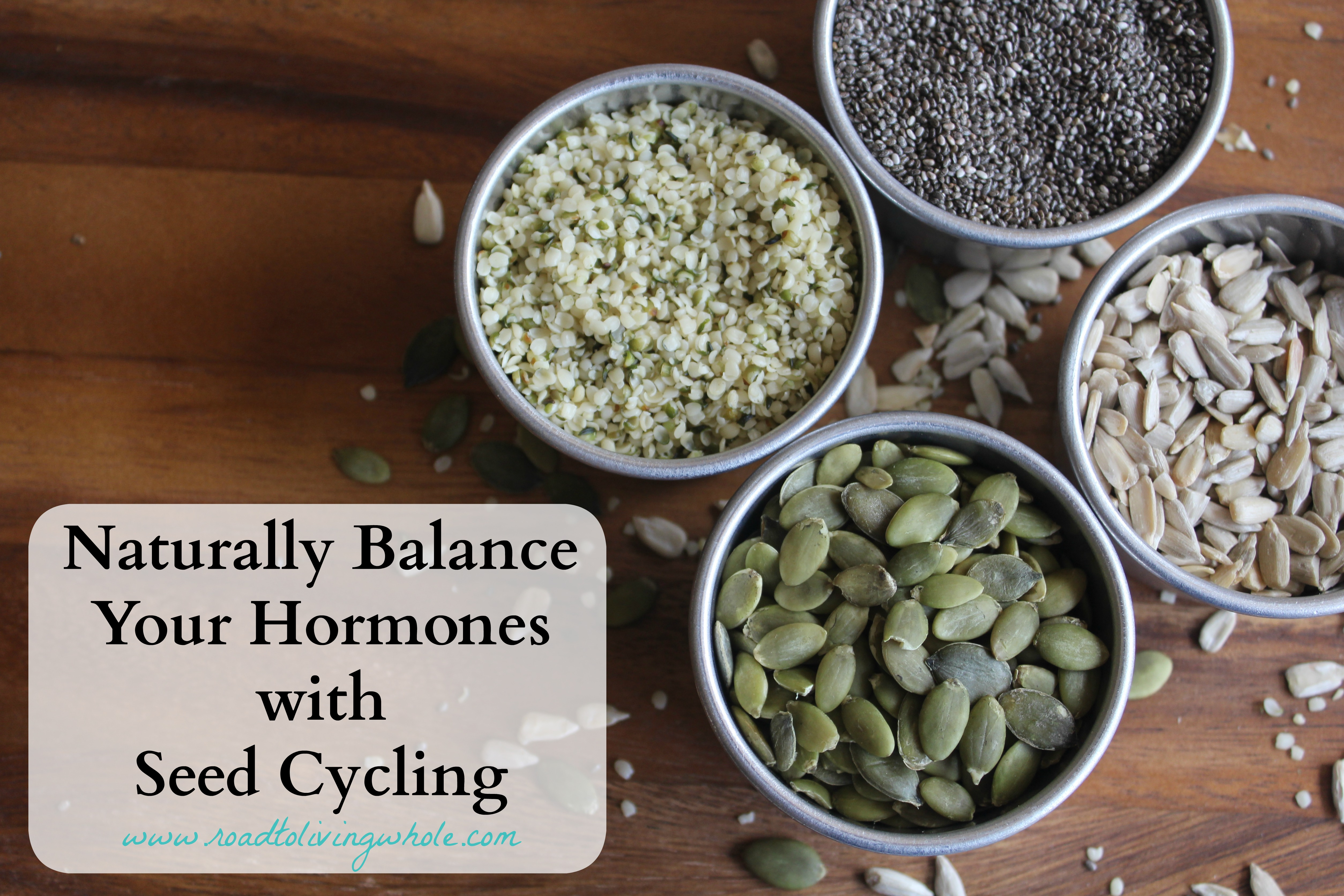 naturally balance hormones with seed cycling