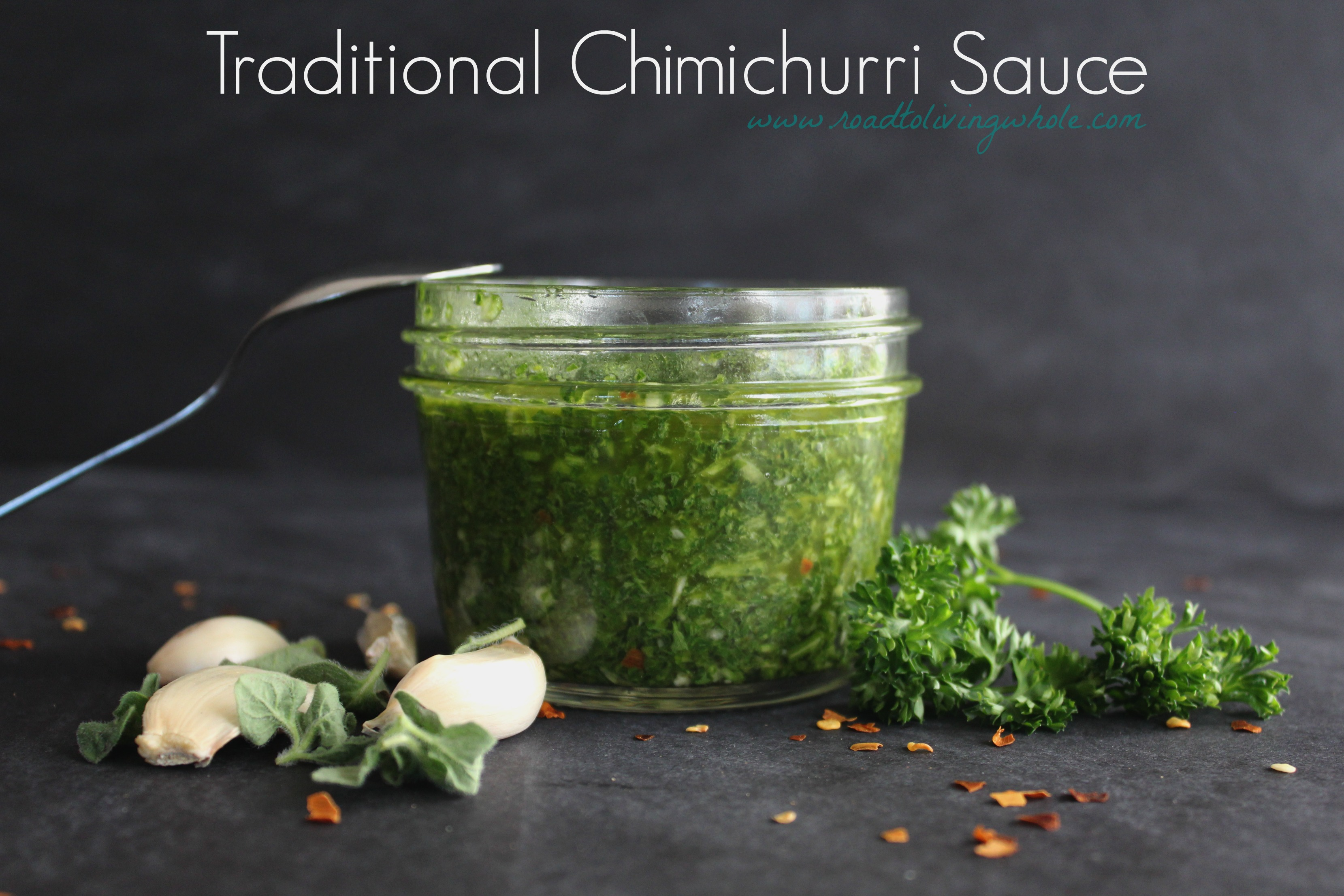 traditional chimichurri sauce