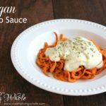 vegan alfredo sauce