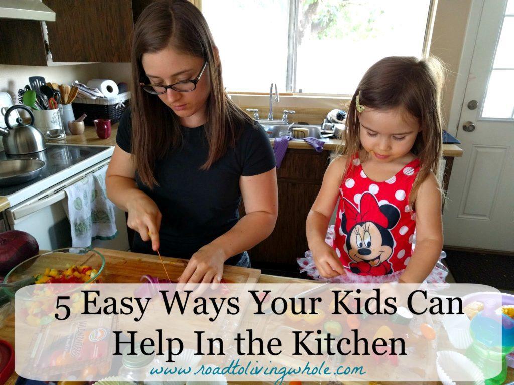 kids help kitchen