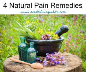 natural pain remedies