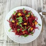citrus mint beet salad