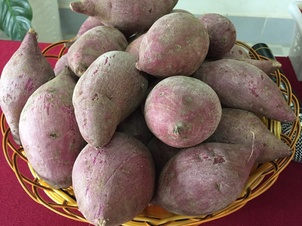 sweet potatoes for skin