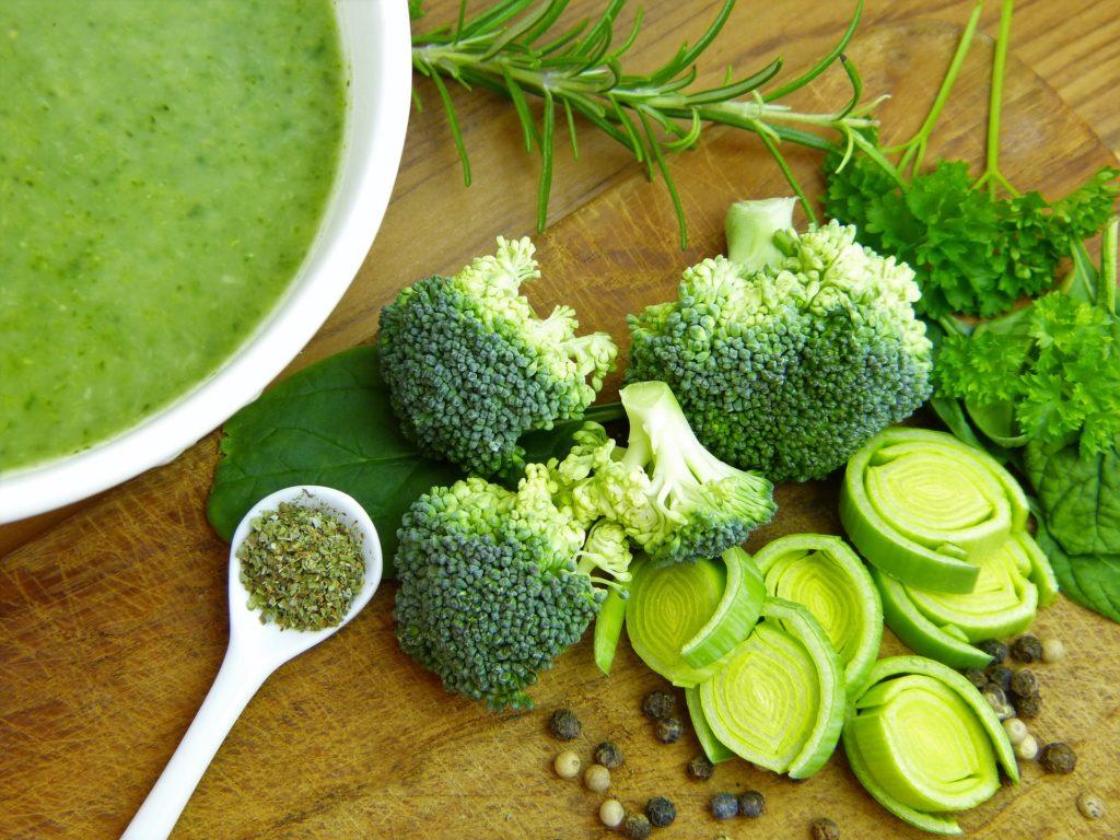 broccoli for skin