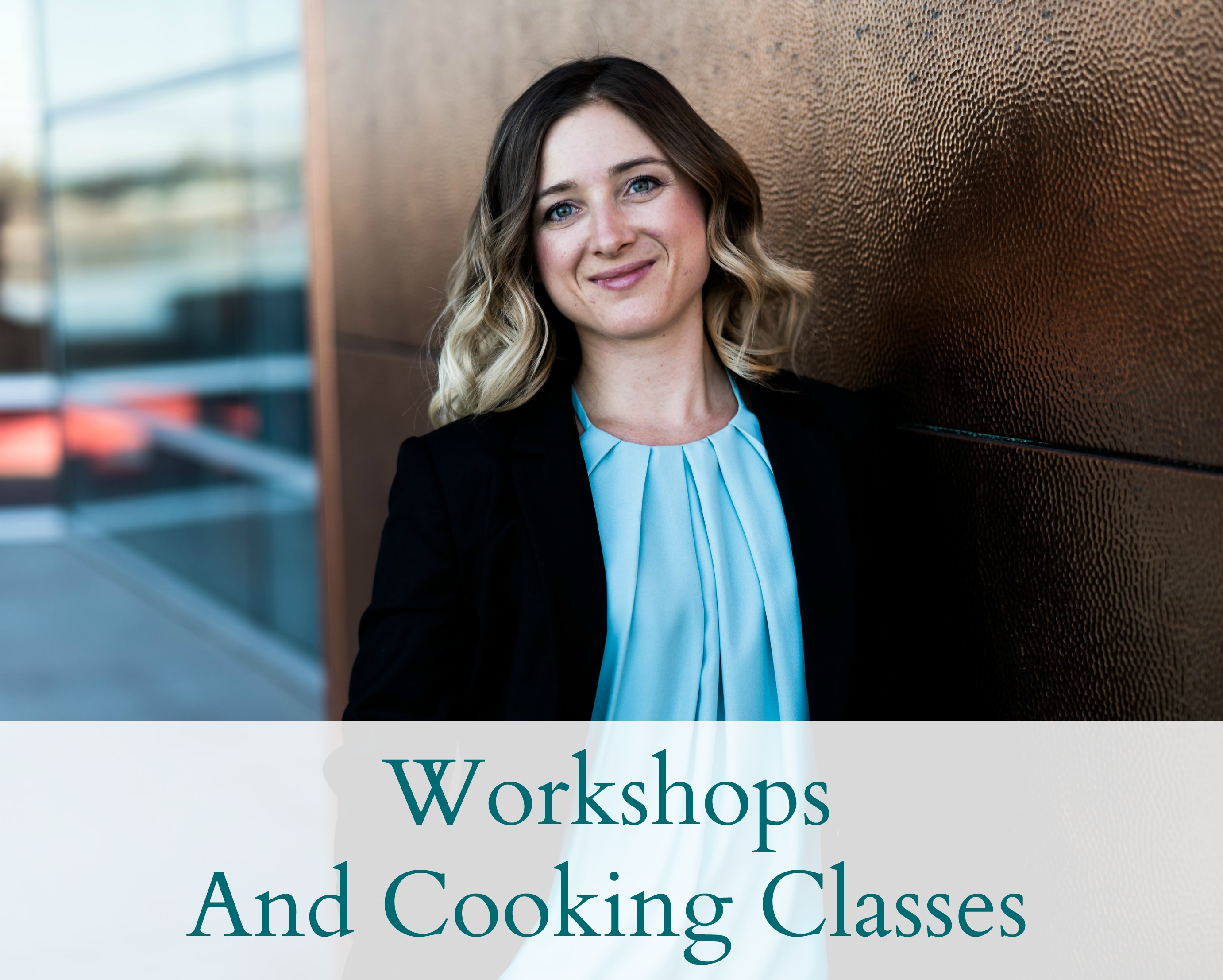 workshops and cooking classes