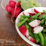 green bean radish salad
