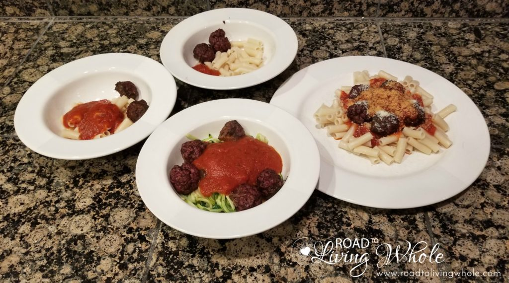 Cooking for Different Diets in a family