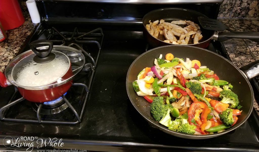 Cooking for multiple diets in a family