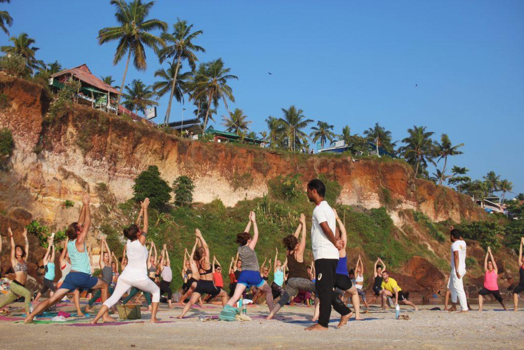 yoga class tone